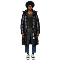R 13 R13 Black Brumal Edition Down Long Anorak Puffer Coat