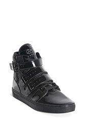 Forever 21 Radii Faux Leather Sneakers Black