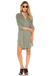 Rails Lennon Button Down Olive