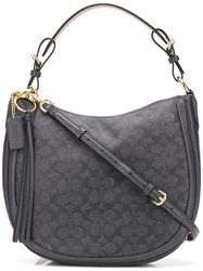 Coach Signature Sutton Hobo Bag Blue