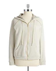 Solow Hooded Zip Up Snow