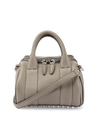Mini Rockie Dumbo Pebbled Duffel Bag Oyster Alexander Wang