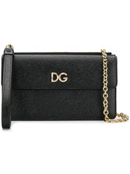 Dolce And Gabbana Small Clutch Bag Black
