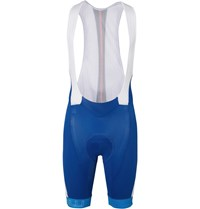 Castelli Velocissimo Mesh And Stretch Shell Cycling Bib Shorts Blue