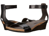 Naot Footwear Pixie Black Luster Leather Black Raven Leather Black Madras Leather Women's Sandals