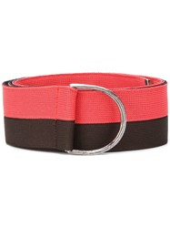 Golden Goose Deluxe Brand Two Tone Belt Pink And Purple