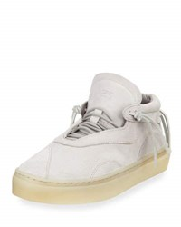 Clear Weather The Everest Suede Mid Top Sneaker Gray