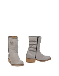 Armani Jeans Ankle Boots Light Grey