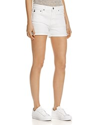 Ag Jeans Hailey Denim Shorts In White