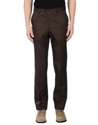 Enrico Coveri Casual Pants Dark Brown