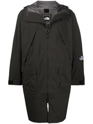 The North Face Hooded Rain Coat Black