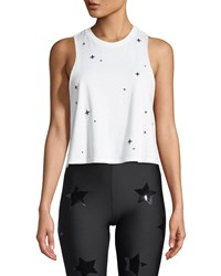 Ultracor Swarovski Starlight Racerback Tank White Pattern