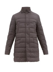 Herno Il Cappotto Quilted Down Coat Grey
