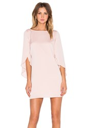 Milly Butterfly Sleeve Dress Blush