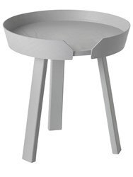 Muuto Small Around Accent Table Grey