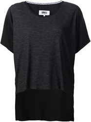Maison Martin Margiela Mm6 Long Tail T Shirt Black