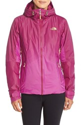 The North Face Women's 'Fuseform Insulated Dot Matrix' Jacket Dramatic Plum Tri Matrix