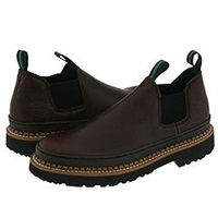 Georgia Boot Gr262 Georgia Giant Romeo Brown Men's Slip On Shoes
