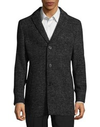 Black Brown Plaid Sportcoat Black