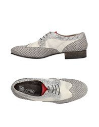 Ebarrito Lace Up Shoes Grey