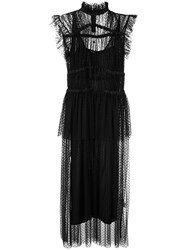Romance Was Born Ruched Tulle Midi Dress 60