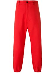 Gucci Loved Logo Trousers Red