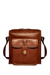 Jack Georges Belmont North South Messenger Bag Brown