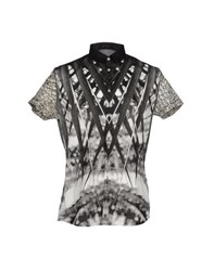Roberto Cavalli Shirts Shirts Men Black