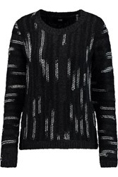 Line Becca Wool Blend Sweater Charcoal