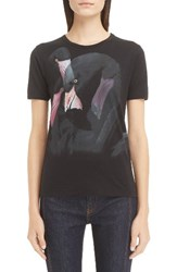 Givenchy Women's Flamingo Print Cotton Tee