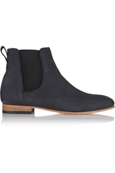 Dieppa Restrepo Troy Nubuck Ankle Boots Blue