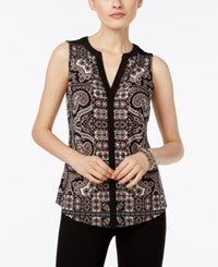 Inc International Concepts Printed Shell Only At Macy's Glam Paisley