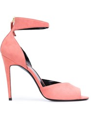 Pierre Hardy Sling Back Sandals Pink And Purple