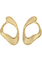 Fernando Jorge Stream Lines 18 Karat Gold Earrings Usd
