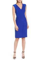 Boss Dadama Sheath Dress Sailor Blue