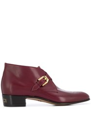 Gucci Monogram Detail Ankle Boots 60