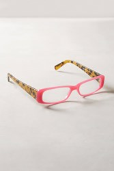 Anthropologie Carrie Tortoise Reading Glasses Pink