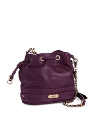 Dolce Vita Drawstring Crossbody Bag Plum