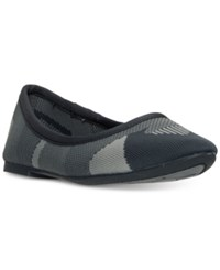 Skechers Women's Cleo Wham Slip On Casual Ballet Flats From Finish Line Charcoal Grey