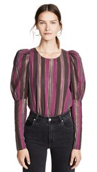 Mes Demoiselles Laduro Blouse Purple