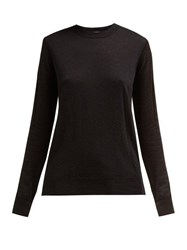 Joseph Cashair Cashmere Sweater Black