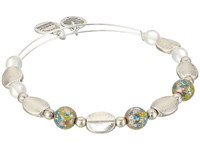 Alex And Ani Cosmic Messages Cosmo Bangle Rafaelian Silver Bracelet