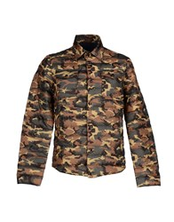 Club Des Sports Coats And Jackets Down Jackets Men Military Green