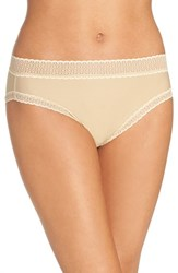 Exofficio Women's Give N Go Lace Trim Sport Briefs Nude