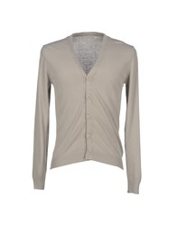 Daniele Fiesoli Knitwear Cardigans Men Light Grey