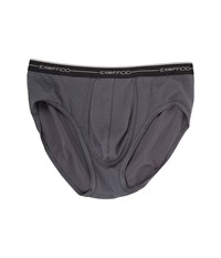 Exofficio Sol Cool Brief Carbon Underwear Gray