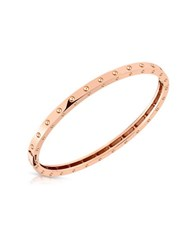 Roberto Coin Symphony 18K Rose Gold Pois Moi Bangle