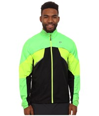 Pearl Izumi Fly Run Jacket Screaming Green Screaming Yellow Men's Workout Multi