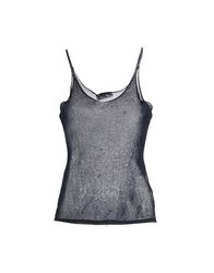 Guess By Marciano Tank Tops Black