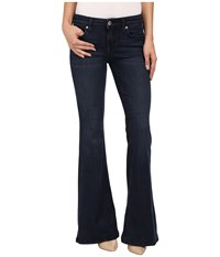 Level 99 Dahlia Flare In Ocean Ocean Women's Jeans Blue